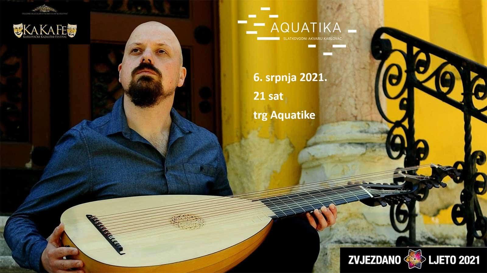 koncert Danijela Jurišića na lutnji