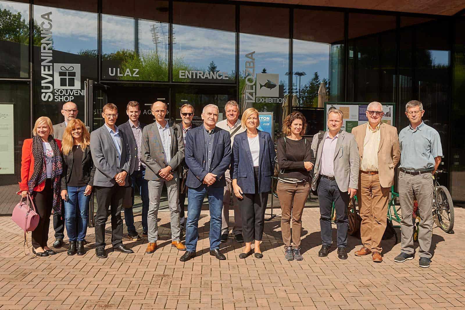 U Aquatici Održan Sastanak čelnika Europskih Međunarodnih Komisija Za Vode